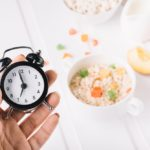 Set the clock for the intermittent fasting diet